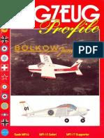 (Flugzeug Profile No.4) Bölkow Junior