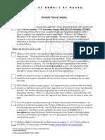 statewide tasks checklist