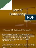 Law of Partnership Presentation
