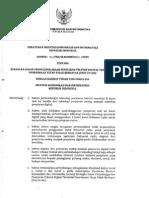 Permen Kominfo RI No. 39 Tahun 2009 tentang Kerangka Dasar Penyelenggaraan Penyiaran Televisi Digital Terestrial Penerimaan Tetap Tidak Berbayar (Free to Air)