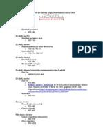 Calendario de Clases y Asignaciones Abril y Mayo 2014