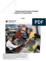phased array rapid inspection