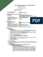 Informe Basico de Inspeccion Tecnica de Seguridad en Defensa Civil