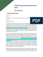 Fonseca, Lei e Norma Foucault