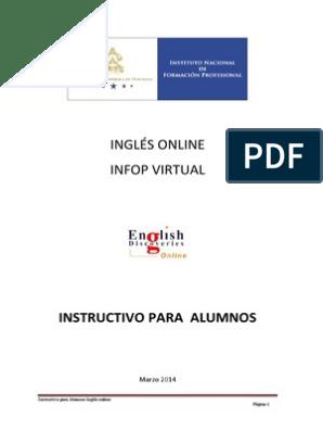 Instructivo Para El Alumno Infop Explorador De Internet Windows Vista