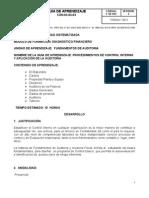 Fundamentos de Auditoria GUIA No 3