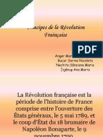 Principes de la Révolution Frainçaise