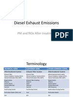 Diesel Exhaust Emissions-Aftertreatment
