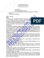 Bài tập môn Kiểm toán TC