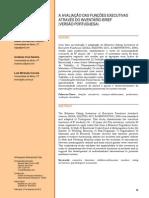 Funções Executivas - Ribeiro, Cruz-Santos & Miranda-Correia, 2012