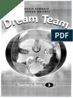 Dream Team 3 -Teachers Book