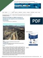 Minería sostenible en CMHSA, mediante el minado de vetas angostas con sostenimiento mecanizado