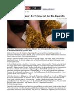 Der Schmu Mit Der Bio-Zigarette
