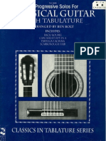 39 Progressive Solos for Classical Guitar Book 1
