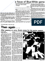 The Daily Collegian – 1994 Blue/White Preview