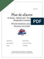 Plan de Afacere Spalatorie Godea
