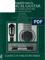 39 Progressive Solos for Classical Guitar Tabs