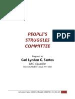 PeopStrug Committee Proposal c/o Councilor Carl Santos