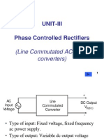 Phase Controlled-Rectifiers (AC-DC Coverters)