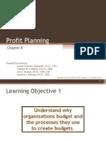 Chap008 Budgets ProfitPLanning