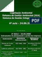 4ª aula de Introdução a SGI - Legislação SGA TST sala 25 24.06.2008