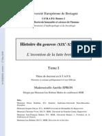 Epron Histoire du gouren (XIXe-XXIe siècles)