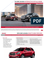2014 GMC Acadia Interactive Book