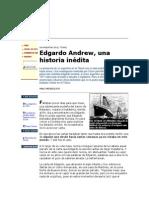 Edgardo Andrew en e Titanic