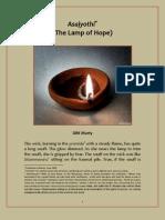 Asajyothi (the Lamp of Hope)