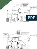 Diagrama de Operaciones Unitarios Biodiesel