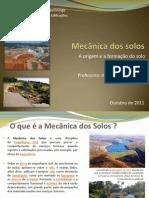 arquivo Mecânica dos solos- aula - prova 1