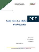 Guía Para La Elaboración De Proyectos (1)