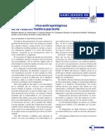 Aspectos Hitorico Antropologicos de La Relacion Medico Paciente