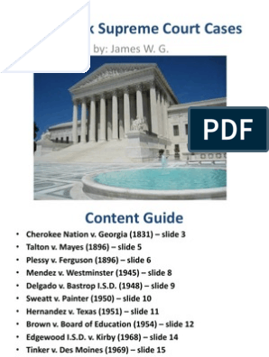 landmark supreme court cases powerpoint | First Amendment To