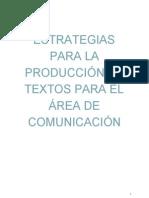 estrategias para el área de comunicación