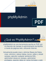 10. PhpMyAdmin