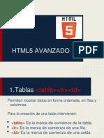 3. HTML5 - Avanzado
