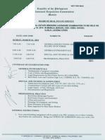 Program of Examination