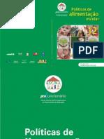MEC. UnB. Politicas de Alimentacao Escolar No 12. Profuncionario 2009