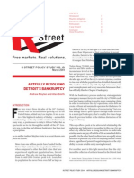R Street - Artfully Resolving Detroit's Bankruptcy