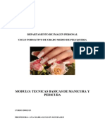 Tecnicas Basicas de Manicura Ana