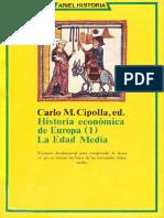 Cipolla - Hª Economica -1- Edad Media