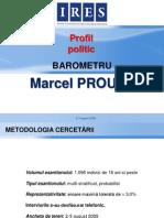 Chestionarul Lui Proust - Alegerile Prezidentiale 2009