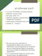 Que Es El Software (Sw)