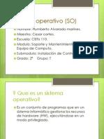 Sistema Operativo (SO)