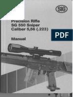 Sniper Manual 550