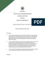 UU No 4 Tahun 2004 Tentang Kekuasaan Kehakiman