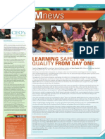 SystemNews.september.2012--Learning Safety and Quality