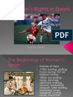 Women's Rights In Sports
