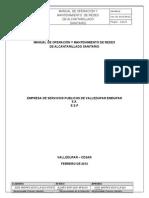 Manual o&m Sistema de Alcantarillado